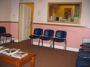 blackpool medical centre cork waiting room